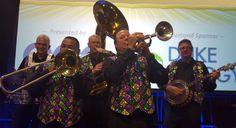 Jammin Jambalaya parading guests at Orange County Convention Center.