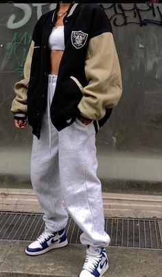 Swaggy Outfits, Tomboy Outfits, Tomboy Fashion, Teen Fashion Outfits, Retro Outfits, Cute Casual Outfits, Streetwear Fashion, Stylish Outfits, Vintage Outfits