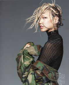 Soo Joo Park by Victor Demarchelier for Vogue Japan April 2014