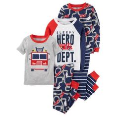 Carters Baby Girls 4 Pc Cotton 331g162