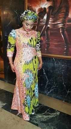 Temmie House Of Fashion: Glamorous Ankara Asoebi Style For The Pretty Ladie. African Fashion Designers, African Fashion Ankara, African Inspired Fashion, Latest African Fashion Dresses, African Print Fashion, Africa Fashion, Ghanaian Fashion, African Prints, African Lace Dresses