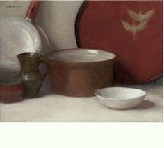 Red Still Life - 12x16 - Oil - by Dana Levin