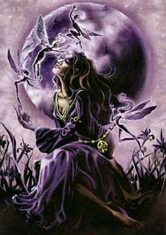 Wiccan pagan fairy fantasy faery fairies