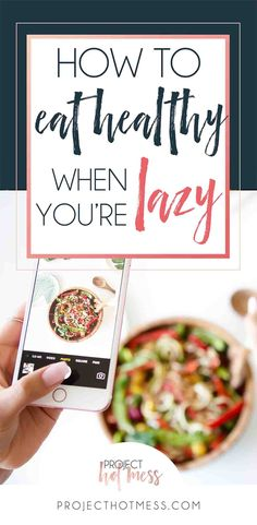 We know we need to eat healthy, but the big question is how to eat healthy when you're lazy? From a self confessed lazy cook, I promise it's possible to do.