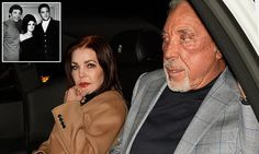 Priscilla shared a paparazzi picture taken of her and the singer Tom Jones, 76.  They were in the car together after sharing dinner at the West Hollywood eatery Craig's, and she posted the snap on both her official Instagram and Facebook pages. 'Enjoyed catching up with a lifelong friend this week,' she wrote.