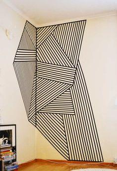 Unique Painters Tape Patterns