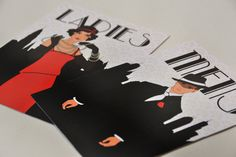 Graphic Design - Event Collateral by Emma McIntosh, via Behance