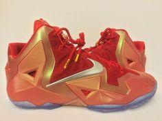 "Nike LeBron 11 ""Gloria"" Promo Sample - SneakerNews.com"