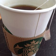 Starbucks tea.