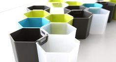 Honeycomb Storage Units Are The Bee's Knees | Co.Design | business + design