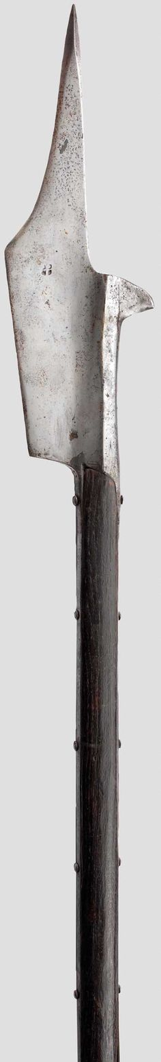 Swiss Halberd Late 15th Century