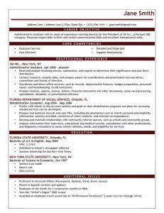 Resume Template Ms Word B&w Executive Free Ms Word Download  Resume Genius Advanced
