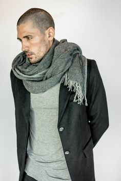 Crafted of 100% lightweight cashmere from Tibet, our cashmere scarf is the perfect accessory for elegant comfort and warmth. Woven on an antique wooden weavi...