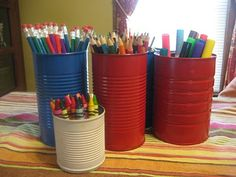 So easy. I should do this for our future playroom.