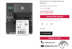 Looking for Zebra Zt230 Tt 203Dpi Usb Serial Ethernet in Australia? QuickPOS deals with various POS Systems @CHEAP Prices..!  http://www.quickpos.com.au/zebra-zt230-tt-203dpi-usb-serial-ethernet