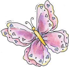 Mariposas de colores para imprimir - Imagenes y dibujos para imprimirTodo en imagenes y dibujos