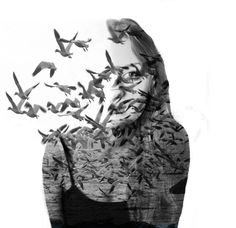 famous double exposure photography - Google Search