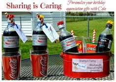 Sharing is Caring: Personalize Your Birthday Appreciation Gifts with Coke #ShareatSchnucks #ad