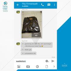 Hallo ! Kita mau Berbagi kebahagiaan & kepuasan Testimoni BUYER dari teman-teman customer @Suede store Men's Fashion :D Cara untuk order jaketnya bisa Hub di : 087824829009  www.instagram.com/suedestore www.tokopedia.com/suedestore