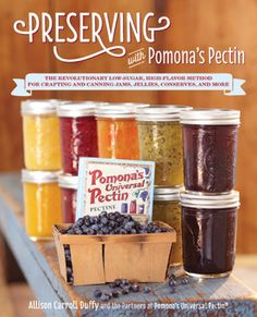 Preserving with Pomona's Pectin Cookbook Giveaway + Mason Jars and more going on at Vedged Out!