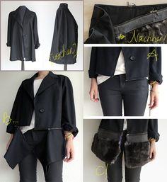 DIY Mantel Spezial, das wandelbare Modell