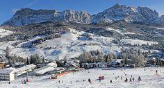 Alta Badia Ski camping-car