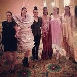 Me and my fabulous models after the show. #johnlin #johnfabulin #fabulin #fabulous #fierce #luxury #expensive #collection #fashion #fashions...