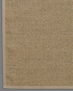 basket weave sisal rug honey