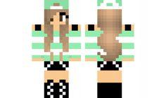 minecraft skin mint-tomboy-girl Find it with our new Android Minecraft Skins… Tomboy Girl, Minecraft Girl Skins, Love Craft, Android, Crafting, Lily, Apps, Comics, Studio