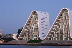 The Wave in Vejle by Jørn Utzon