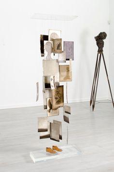 Shany van den Berg | Work Den, Shelving, Sculptures, Place Card Holders, Home Decor, Shelves, Decoration Home, Room Decor, Shelving Units