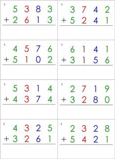 Math Equations Cards from Montessori for Everyone