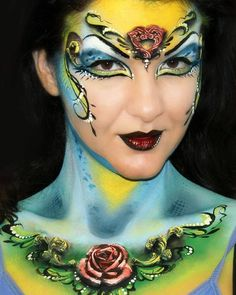 #cirquedusoleil #rose #queen #rosequeen #3d #facepainting #facepaintingdesigns #makeup #cirquedusoleilmakeup #facepaintingideas #bodypainting #bodyart #abstractfacepainting #abstractbodyart #аквагрим #бодиарт #фейсарт #цирксолнца #мэйкап #ольгамурашева #olgasfacebodyart #olgamurasev