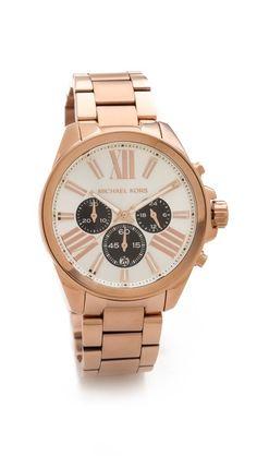 61f81991fd6d Michael Kors Wren Watch  225 Michael Kors Chronograph Watch