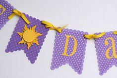 Best Day Ever banner Tangled inspired banner Rapunzel banner princess banner