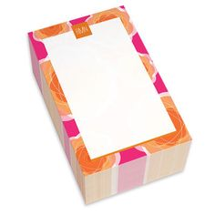 Pink Pretty Blooms Chunky Notepads