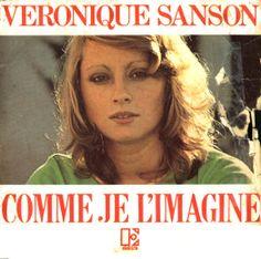 "Véronique Sanson - Single - ""Comme Je L'Imagine"" - ""Toute seule"" - 1972. Eddy Mitchell, Stephen Stills, Rockers, Comme, Singers, Movie Posters, Movies, Life, French"