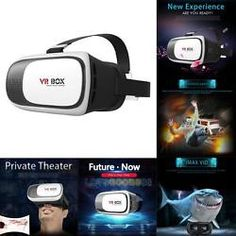 3D Video Cardboard VR Box Virtual Reality Glasses Headset for Smart Phone 4-6''