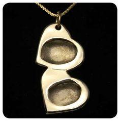 Imprint on My Heart Fingerprint Jewelry #valentines day