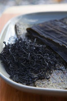 Hijiki.  This is great for us that have  slow thyroids (and take synthroid). This sea vegetable increases the synthesis of the thyroid hormone to boost metabolism. I'm going to try it.
