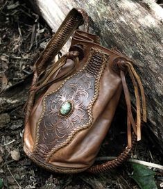 Leather backpack, hand crafted by Leather Tuna