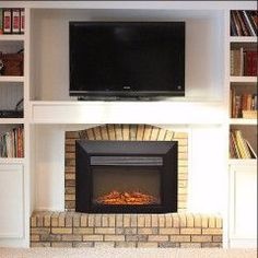 Ingleside Touchstone's 28 Inch LED Electric Firebox Fireplace Insert