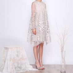 29 Ideas party dress diy women for 2019 Best Party Dresses, Party Dress Outfits, Diy Dress, Nice Dresses, Lace Dress, Formal Dresses, Dress Long, Dress Brokat, Kebaya Dress
