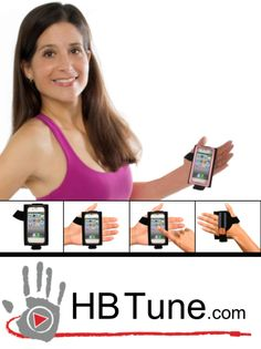 Check out the HB Tune hand band!