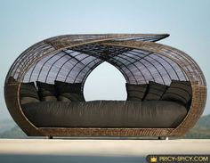 Unique luxury furniture spartan outdoor wicker daybed by locsin ...