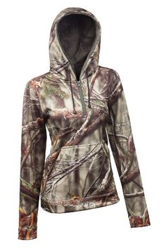 Huntworth Women's Performance Hoodie, Camouflage, X-Large - http://www.immmb.com/women-clothing/huntworth-womens-performance-hoodie-camouflage-x-large.html/