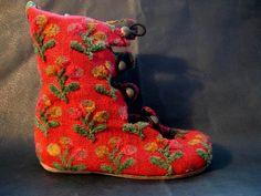chaussures soulier bottes artisanales en cuir pour enfants