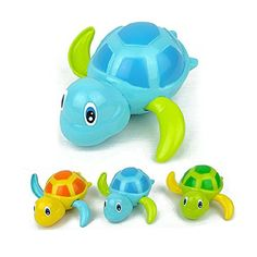 Fajiabao Bathtime Fun Swimming Turtle Toy Bathtub Bath Toys for Toddlers(3 Pcs)   No batteries required.The best bath toy choice,kids love this funny toy very much. Read  more http://shopkids.ca/toys-videos-games/fajiabao-bathtime-fun-swimming-turtle-toy-bathtub-bath-toys-for-toddlers3-pcs