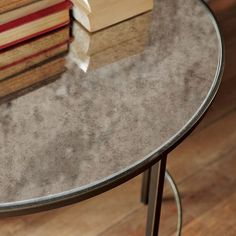 West Elm foxed mirror coffee table2