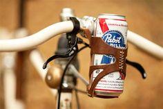 Gadget du jour – Un Porte canette de Bière pour vélo